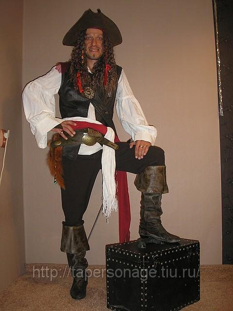Пиратские ботфорты своими руками