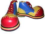 Клоунские ботинки. Прокат 800 рублей.