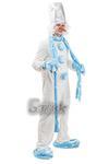 Костюм Снеговика напрокат.  Прокат костюма 50 размера 1200 рублей.