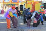 Карнавальный набор для сценок и игрищ- костюм Бабы Яги, русский народный костюм, маска животного на выбор (кот, собака, поросенок), мешки, канат. Прокат 1700 рублей.