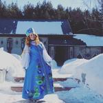 Сценический костюм в народном стиле - сарафан, блуза, кокошник. Размер 48.