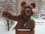 """Ростовая кукла """"Большой медведь"""". Прокат костюма ростовой куклы 2000 рублей."""