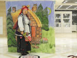 Костюм Бабы Яги напрокат. Прокат костюма Баба Яга - юбка, жилет, блуза, платок, нос Бабы Яги. 1000 рублей. Размер универсальный.