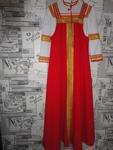 Русский народный костюм - сарафан, блуза. Прокат костюма 1000 рублей.